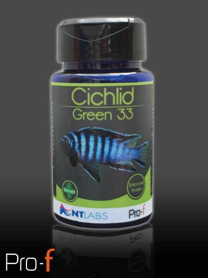 Pro-F Cichlid Green 100g