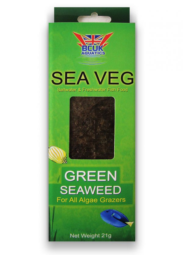 BCUK Green Seaweed