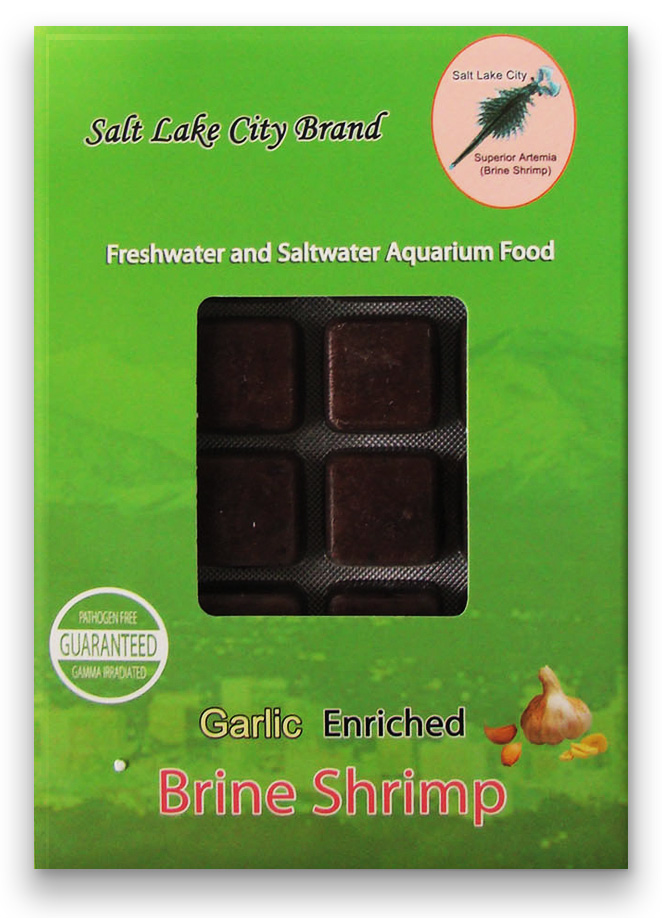 Brine Shrimp and Garlic (22 packs) SPECIAL PRICE!