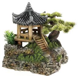Pagoda House with Plants 7''